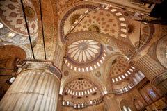 μπλε μουσουλμανικό τέμενος της Κωνσταντινούπολης Στοκ φωτογραφίες με δικαίωμα ελεύθερης χρήσης