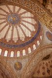 μπλε μουσουλμανικό τέμενος της Κωνσταντινούπολης Στοκ Εικόνες