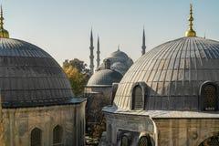 μπλε μουσουλμανικό τέμενος της Κωνσταντινούπολης στοκ εικόνα