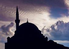 μπλε μουσουλμανικό τέμενος Τουρκία της Κωνσταντινούπολης Στοκ εικόνες με δικαίωμα ελεύθερης χρήσης