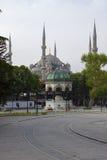 μπλε μουσουλμανικό τέμενος Στοκ Εικόνα