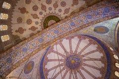 μπλε μουσουλμανικό τέμενος Στοκ Φωτογραφίες