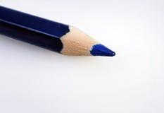 Μπλε μολύβι Στοκ εικόνα με δικαίωμα ελεύθερης χρήσης