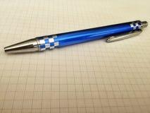 Μπλε μολύβι Στοκ Φωτογραφίες
