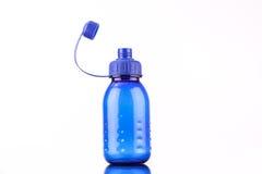 μπλε μπουκάλι Στοκ Φωτογραφία
