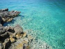Μπλε μπλε θάλασσα Στοκ φωτογραφία με δικαίωμα ελεύθερης χρήσης
