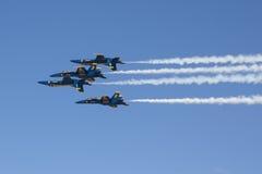 Μπλε ναυτικοί άγγελοι Στοκ εικόνα με δικαίωμα ελεύθερης χρήσης