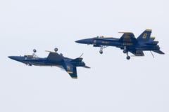 μπλε ναυτικό αγγέλων εμε Στοκ εικόνες με δικαίωμα ελεύθερης χρήσης