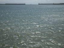 Μπλε νερά της θάλασσας Στοκ εικόνες με δικαίωμα ελεύθερης χρήσης
