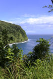 Μπλε νερά της Χαβάης Στοκ Φωτογραφίες