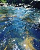 Μπλε νερά Στοκ Φωτογραφίες