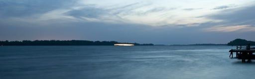 μπλε νύχτα Στοκ Φωτογραφίες