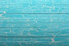 Μπλε ξύλινη ανασκόπηση Στοκ Εικόνα