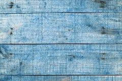 Μπλε ξύλινοι πίνακες Aqua Στοκ φωτογραφίες με δικαίωμα ελεύθερης χρήσης