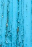 Μπλε ξύλινο υπόβαθρο Στοκ Εικόνα