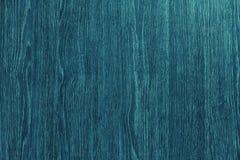 Μπλε ξύλινο υπόβαθρο Στοκ Εικόνες