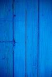 Μπλε ξύλινο υπόβαθρο στοκ εικόνα με δικαίωμα ελεύθερης χρήσης