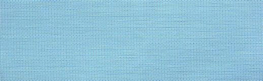 Μπλε οριζόντια swatch υφάσματος σύσταση Στοκ φωτογραφία με δικαίωμα ελεύθερης χρήσης