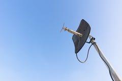 μπλε δορυφορικός ουρα&n Στοκ φωτογραφία με δικαίωμα ελεύθερης χρήσης