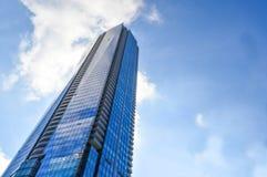 Μπλε ουρανοξύστης Τορόντο κεντρικός Στοκ εικόνες με δικαίωμα ελεύθερης χρήσης