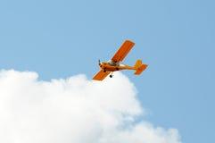 μπλε ουρανός αεροπλάνων Στοκ εικόνα με δικαίωμα ελεύθερης χρήσης