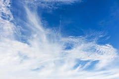μπλε ουρανός ανασκόπησης Στοκ Φωτογραφίες