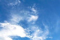 μπλε ουρανός ανασκόπησης Στοκ εικόνα με δικαίωμα ελεύθερης χρήσης