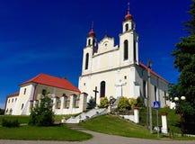 μπλε ουρανός εκκλησιών &kapp στοκ φωτογραφία