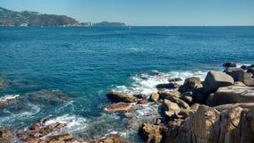 Μπλε ουρανός, μπλε θάλασσα στοκ εικόνα με δικαίωμα ελεύθερης χρήσης