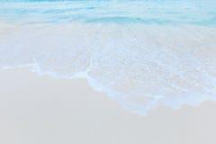 μπλε ουρανός παραλιών έννοια για το θερινό όμορφο ουρανό, αφίσα, BA Στοκ Φωτογραφίες
