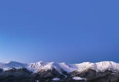 Μπλε ουρανός πρωινού Στοκ φωτογραφία με δικαίωμα ελεύθερης χρήσης