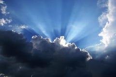 Μπλε ουρανός στα σύννεφα Στοκ Εικόνα