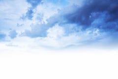 μπλε ουρανός συνόρων ανα&sig Στοκ Εικόνες