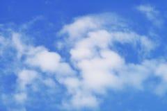 Μπλε ουρανός, σύννεφο, υλικό υποβάθρου Στοκ Εικόνες