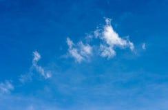 μπλε ουρανός σύννεφων μπλε ουρανός σύννεφων Στοκ Εικόνες