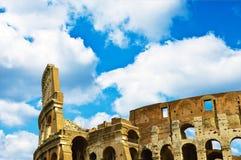 μπλε ουρανός της Ρώμης colosseum Στοκ εικόνες με δικαίωμα ελεύθερης χρήσης