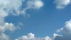 Μπλε ουρανός χρονικού σφάλματος απόθεμα βίντεο