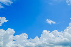 μπλε ουρανός Στοκ εικόνα με δικαίωμα ελεύθερης χρήσης