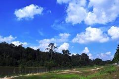 μπλε ουρανός Στοκ Εικόνα