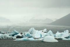 Μπλε πάγου Στοκ εικόνα με δικαίωμα ελεύθερης χρήσης