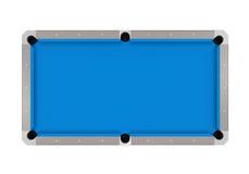 Μπλε πίνακας μπιλιάρδου διανυσματική απεικόνιση