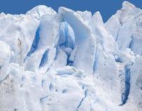 Μπλε παγωμένες υπόβαθρο και σύσταση. στοκ εικόνα με δικαίωμα ελεύθερης χρήσης