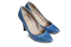 Μπλε παπούτσια Στοκ Φωτογραφία