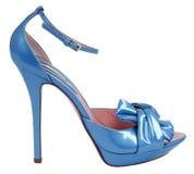 Μπλε παπούτσι Στοκ εικόνες με δικαίωμα ελεύθερης χρήσης