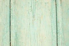 μπλε παλαιός ξύλινος πορ&ta Στοκ Εικόνες