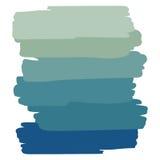 Μπλε παλετών αντικειμένου τέχνης ελεύθερη απεικόνιση δικαιώματος