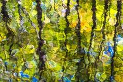 Μπλε περίληψη κορυφογραμμών Στοκ Εικόνες