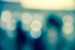 Μπλε περίληψη aqua θαμπάδων του υποβάθρου ζωής πόλεων Στοκ εικόνα με δικαίωμα ελεύθερης χρήσης