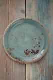 μπλε πιάτο στοκ εικόνες