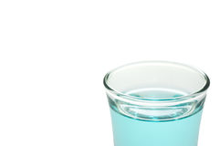 Μπλε ποτό Στοκ φωτογραφία με δικαίωμα ελεύθερης χρήσης